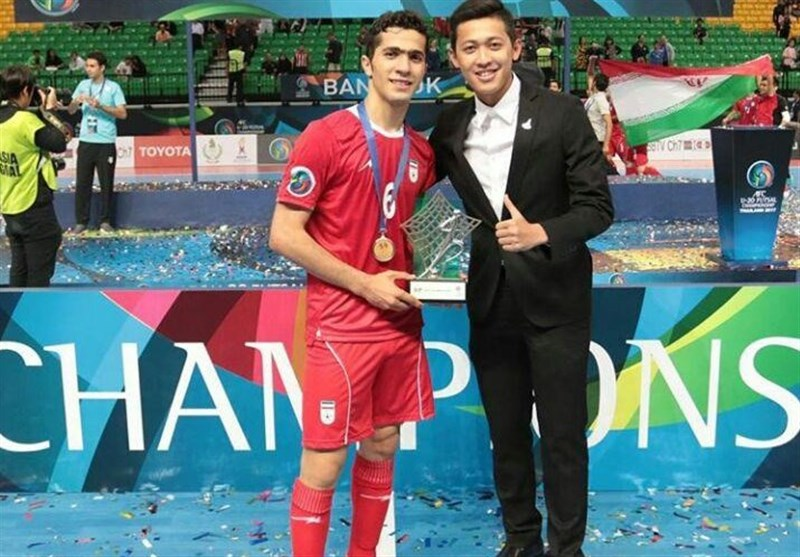Iran's Lotfi Nominated for Best Young Player of the World