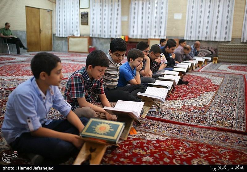 کلاس آموزش قرآن رده سنی خردسالان و نوجوانان در دارتحفیظ القرآن الکریم