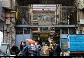 توقیف لامپهای غیراستاندارد در بازار لالهزار تهران