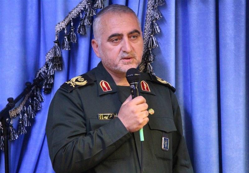 سردار غلام عسگر کریمیان فرمانده سپاه عاشورا آذربایجان شرقی