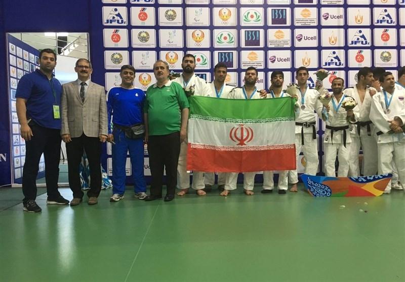 Iran Wins International Blind Judo Tournament Title