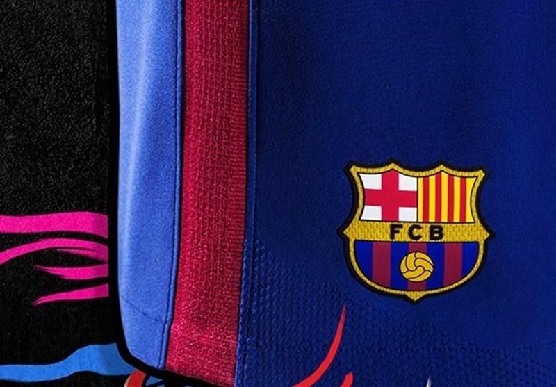 پیراهن فصل 18-2017 بارسلونا