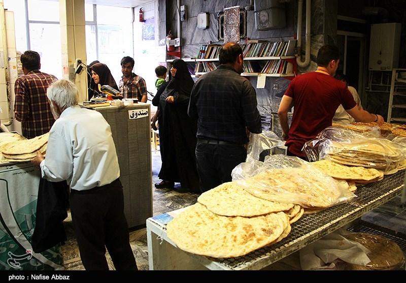گرانی 15 درصدی قیمت نان در تهران از شنبه 4 آذر