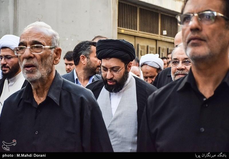 تشییع پیکر مرحوم حجتالاسلام پهلوانی