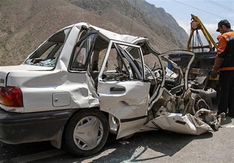 تصادفات فوتی در محورهای استان لرستان 23 درصد کاهش یافت