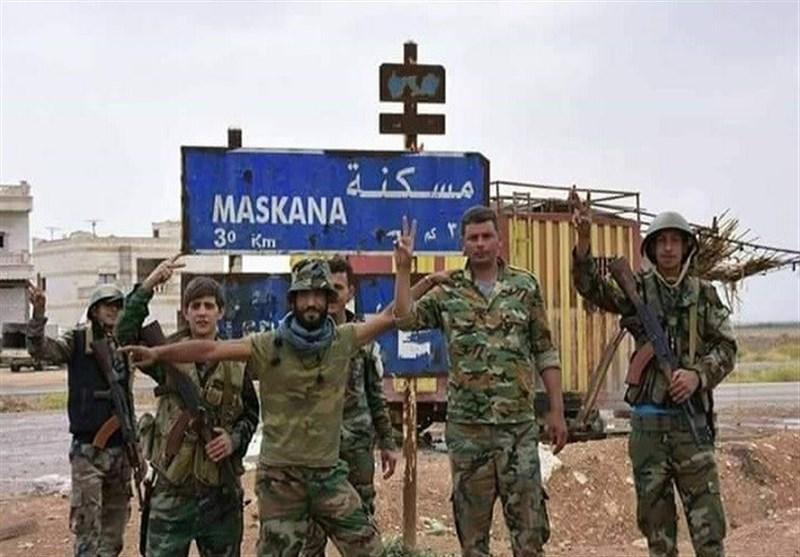 "الجیش السوری على مشارف ""مسکنة"" آخر معاقل داعش بریف حلب الشرقی"