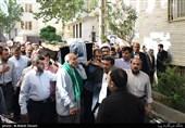 تشییع پیکر مرحوم آیت الله حاج شیخ حسن پهلوانی تهرانی