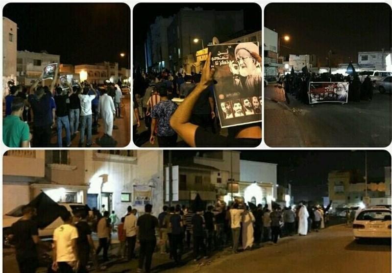 تداوم تظاهرات بحرینیها
