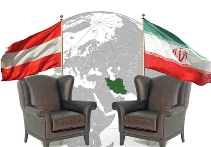 پرچم ایران و اتریش