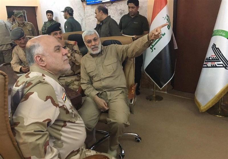 العبادی: موصل کی مکمل آزادی کا اعلان جلد متوقع