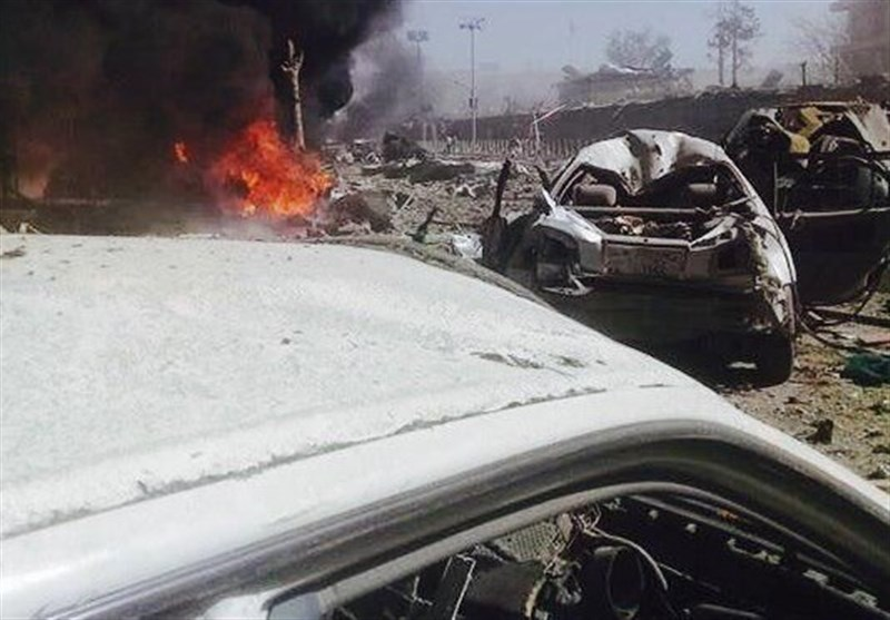 انفجار مهیب در منطقه دیپلماتنشین کابل با بیش از ۳۰۰ کشته و زخمی+تصاویر