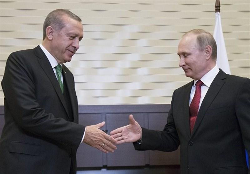 پوتین اردوغان