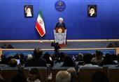"""روحانی از """"خدمات ارزنده"""" جهانگیری در عرصه انتخابات تجلیل کرد"""