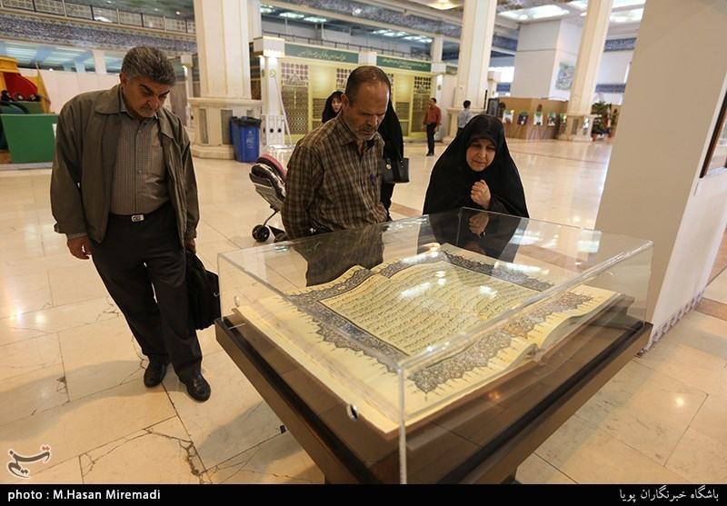 در غرفه موزه امام علی(ع) نمایشگاه قرآن چه میگذرد!