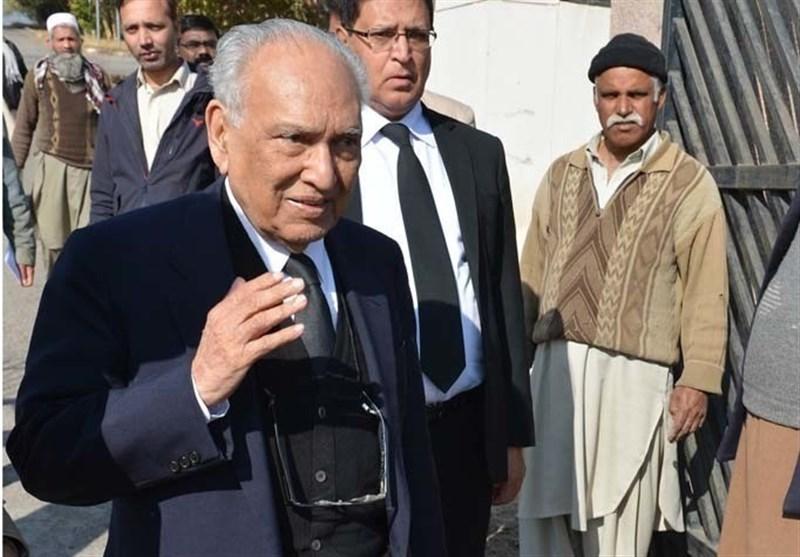 شریف الدین پیر زادہ؛ 1973 کے آئین کے خالق انتقال کرگئے