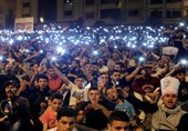 السلطات المغربیة تعتقل 40 شخصا مع تواصل الاحتجاجات فی الحسیمة