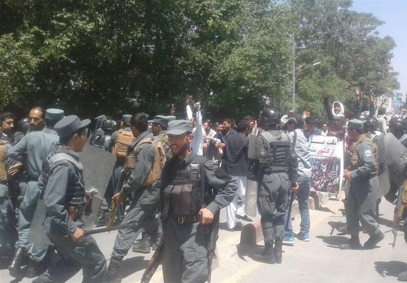 تظاهرات علیه ناامنی در کابل1