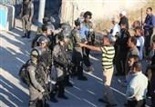 فلسطینیان در راه مسجدالاقصی