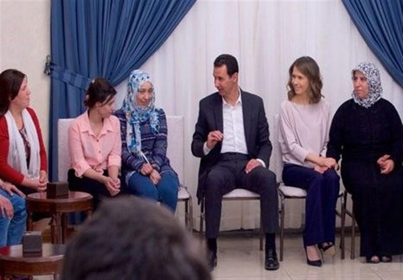 پولتیکو: اسد در جنگ داخلی سوریه دست برتر را دارد