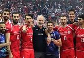 برنامه تیم ملی والیبال ایران در تهران
