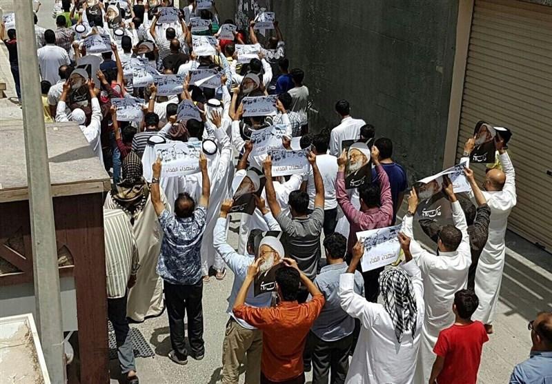 تظاهرة فی الدراز ترفع صور شهداء ساحة الفداء+ صور