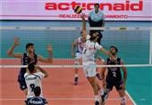 شکست تیم ملی والیبال ایران مقابل ایتالیا + تصاویر