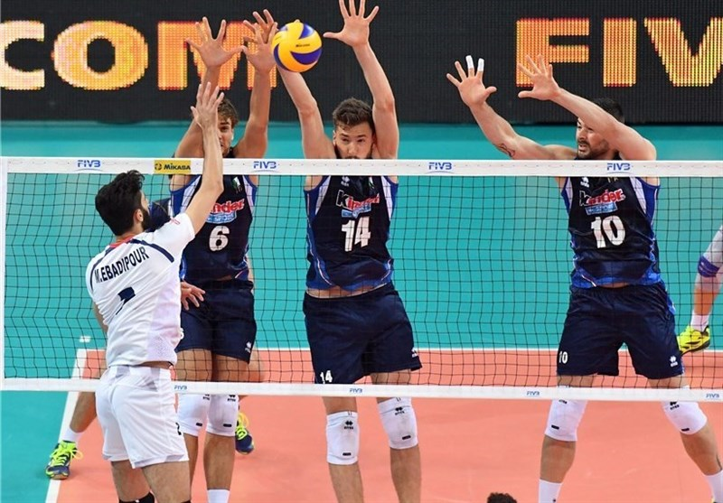 Iran Loses to Italy in FIVB Volleyball World League Opener
