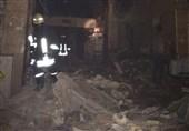 اصابة 35 شخصا بجروح طفیفة جراء انفجار فی مرکز تجاری بمدینة شیراز