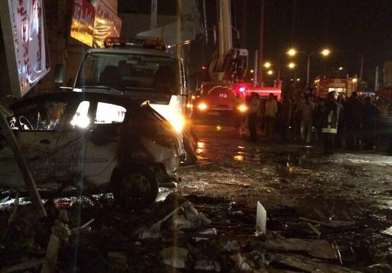 انفجار شیراز