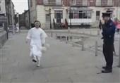 رقابت روپایی یک راهبه با مامور پلیس+فیلم