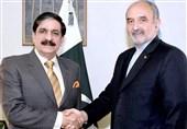 دیدار مشاور امنیت ملی پاکستان با سفیر ایران در اسلامآباد/ تاکید بر همبستگی و گسترش روابط
