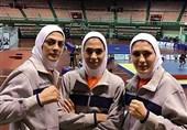 خواهران منصوریان و سبحانی مسافر بازیهای آسیایی شدند