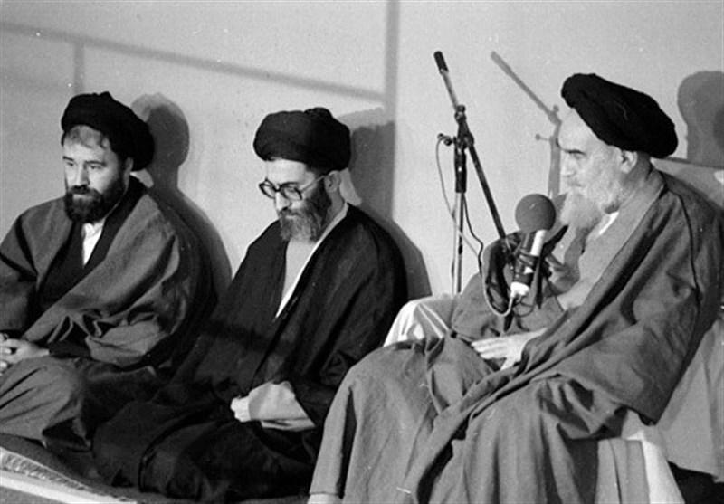 امام خمینی و رهبر انقلاب