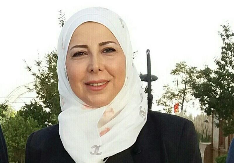نهی جانات عضو پارلمان سوریه