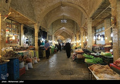 بالصور.. السوق التاریخی فی زنجان