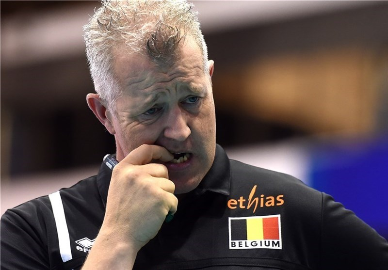 Iran Volleyball Deserved to Win, Belgium Coach Heynen