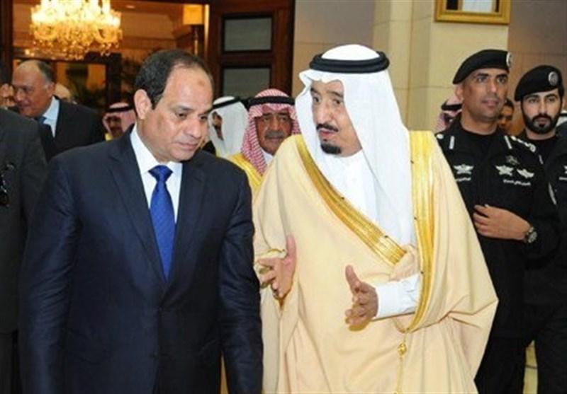 سعودی شاہ اور مصری صدر کے درمیان ٹیلیفونک رابطہ