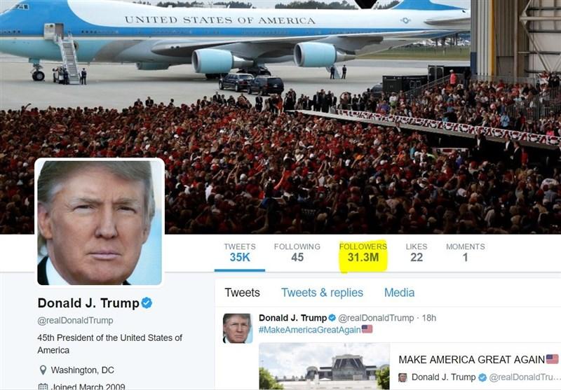 ترامپ؛ گاو شیرده توئیتر