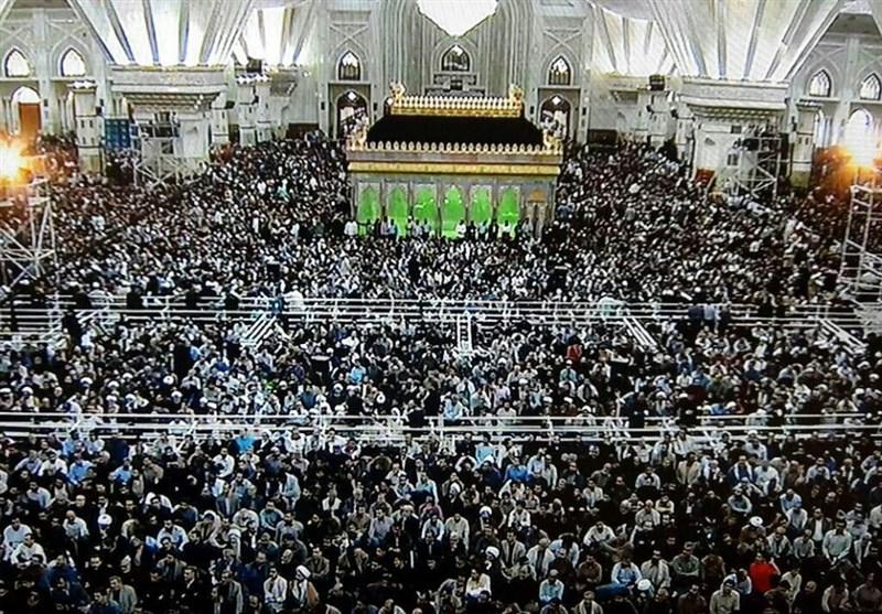 بدء مراسم إحیاء الذکرى الثامنة والعشرین لرحیل مفجر الثورة الاسلامیة
