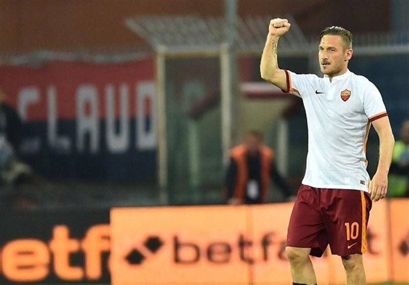 توتی رسما از فوتبال خداحافظی کرد و به کادر مدیریتی رم پیوست