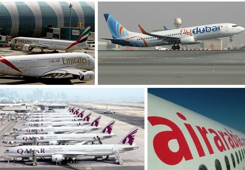 قطع پروازهای قطر با امارات، عربستان و مصر