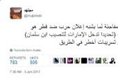 """""""مجتهد"""": الکشف عن دور الإمارات فی تنصیب بن سلمان سبب القفزة المفاجأة ضد قطر"""