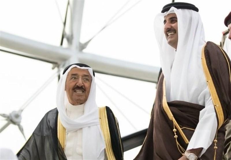 امیر قطر و امیر کویت