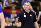 Serbia's Nikola Grbic Very Satisfied with Win against Iran