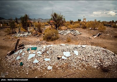 ایران کے شہر زاہدان میں اہلسنت کا قبرستان