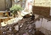 ریزش ساختمان در مشهد سبب فوت 2 کارگر شد