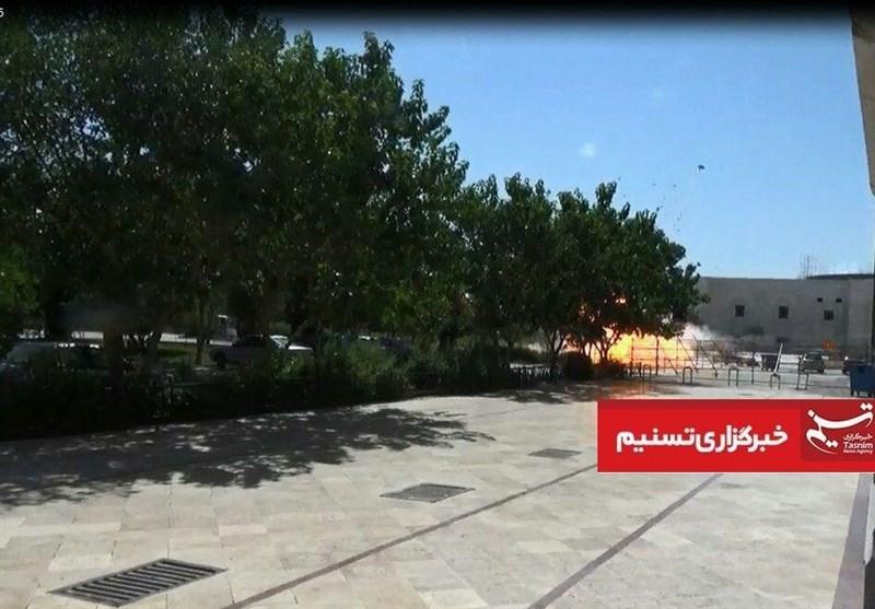 فیلم لحظه دستگیری یکی از عوامل تروریستی حمله به حرم امام(ره)