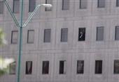 اطلاق نار فی اروقة البرلمان الایرانی ومسلحون یفتحون النار فی مرقد الامام الخمینی (رض) وتصفیة أحد الارهابیین فی عملیة تسلل