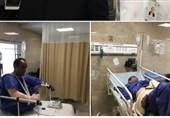 وضعیت 13 مجروح تیراندازی مجلس در بیمارستان سینا/ یک نفر فوت کرد