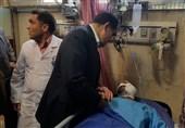 وضعیت مجروحان در بیمارستانهای طرفه و امام حسین